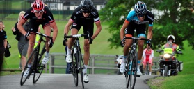 Cyclists competing at Ryedale Grand Prix