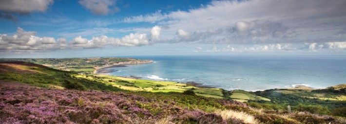 View to Robin Hood's Bay from Ravenscar photo by Mike Kipling