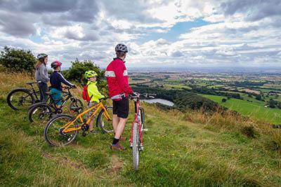 Sutton Bank Cycle Tracks by Ebor Images