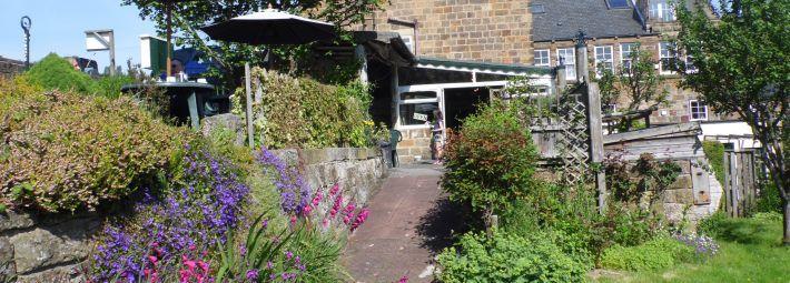 Hazelwood Tearoom gardens Credit Hazelwood Tearoom
