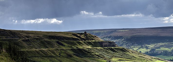 Rosedale - Big Sky Over East Mines by Paddy Chambers