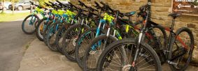 Bike hire at Sutton Bank Bikes Credit Ebor Images