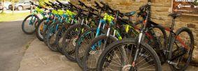 Bike hire at Sutton Bank Bikes Credit Ebor Images