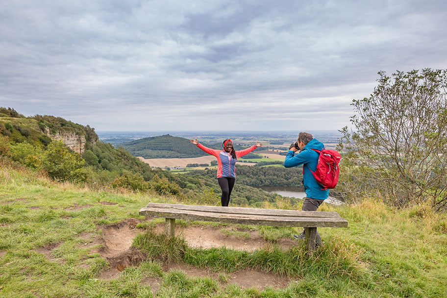 Finest View at Sutton Bank Credit VisitBritain