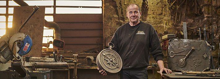 James Godbold, Blacksmith ©VisitBritain/Sam Barker