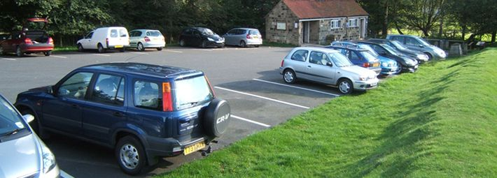 Hutton le Hole car park