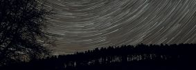 Time lapse Dark skies above Dalby Forest - Credit Classlane Media