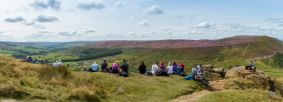 Guided Walk, Wainstones, North York Moors Credit Ebor ImagesNYMNPA