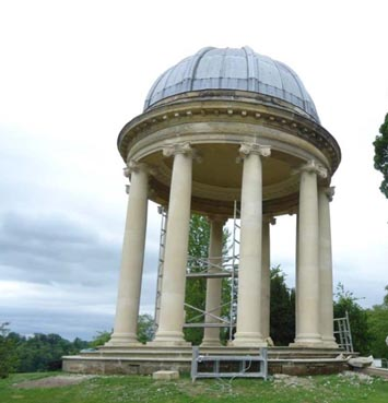 The Ionic Temple, Duncombe Park, Helmsley