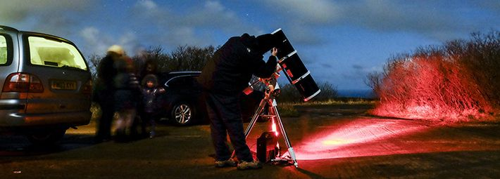 Stargazing experiences at Ravenscar Credit Tony Bartholomew/NYMNPA