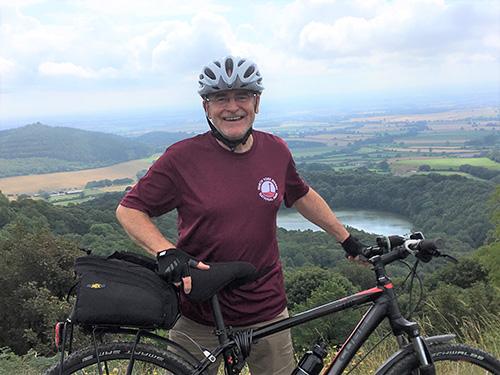 Cycle Patrol Volunteer at Sutton Bank
