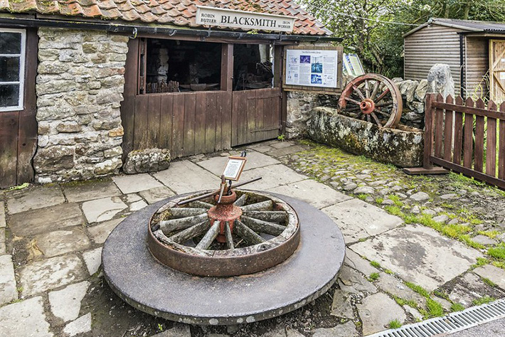 Traditional blacksmith workshop, Ryedale Folk Museum Credit www.rjbphotographic.co.uk