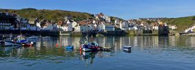 Staithes Harbour by Volunteer, Brian Nicholson