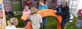 Events, arch-building, family at Egton Show 23 August 2017