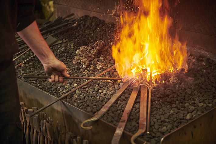 Blacksmithing © VisitBritain Sam Barker