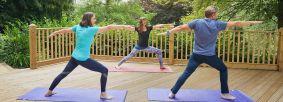 Yoga at High Dalby House Credit Olivia Brabbs