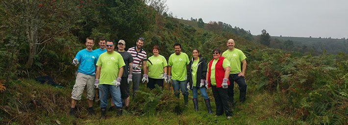 Volunteers in the National Park