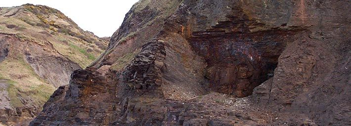 Cliffs at Runswick Bay