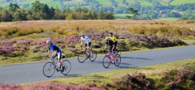Road cycling North York Moors Credit Tony Bartholomew