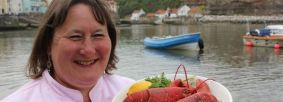 Chef Lisa Chapman Credit Staithes Festival of Arts & Heritage