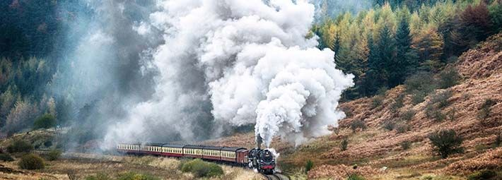 North Yorkshire Moors Railway - Credit Graham Staples