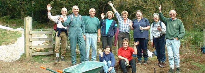 Volunteers at Commondale