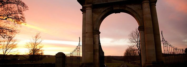 Nelson Gates at Sunset by Phil West