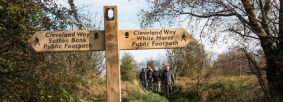 Cleveland Way near Sutton Bank Credit Ben Read Photography