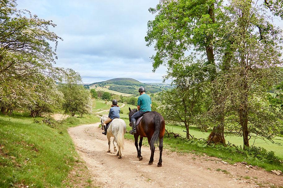 Horse riding in Bilsdale Credit Olivia Brabbs