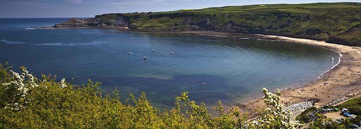 Runswick Bay by credit Mike Kipling