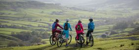Cycling in the North York Moors, credit Russell Burton