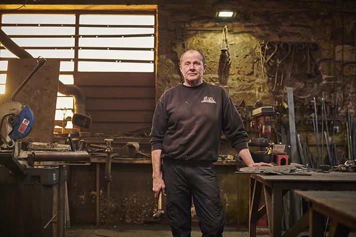 James Godbold, Blacksmith © VisitBritain/Sam Barker;