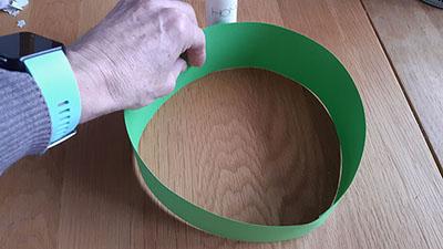 Make a circular headband