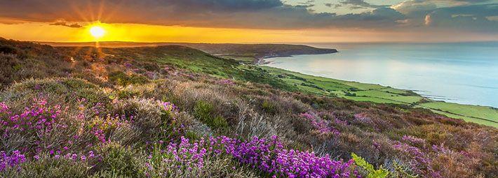 Coastal view towards Robin Hood's Bay by Ebor Images
