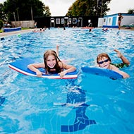 Helmsley Outdoor Swimming Pool by Chris Parker