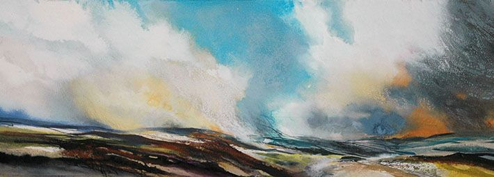 Debbie Loane - Heather Burning Blakey Ridge
