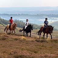 Horse riding on the North York Moors