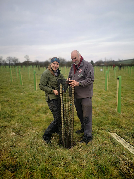 Volunteer groups in the North York Moors are planting more than 3,500 trees in six weeks, as the National Park marks the start of the government's 'Year of Green Action'.