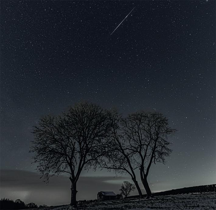 Meteor above Helmsley by Steve Bell