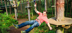 Go Ape, Dalby Forest
