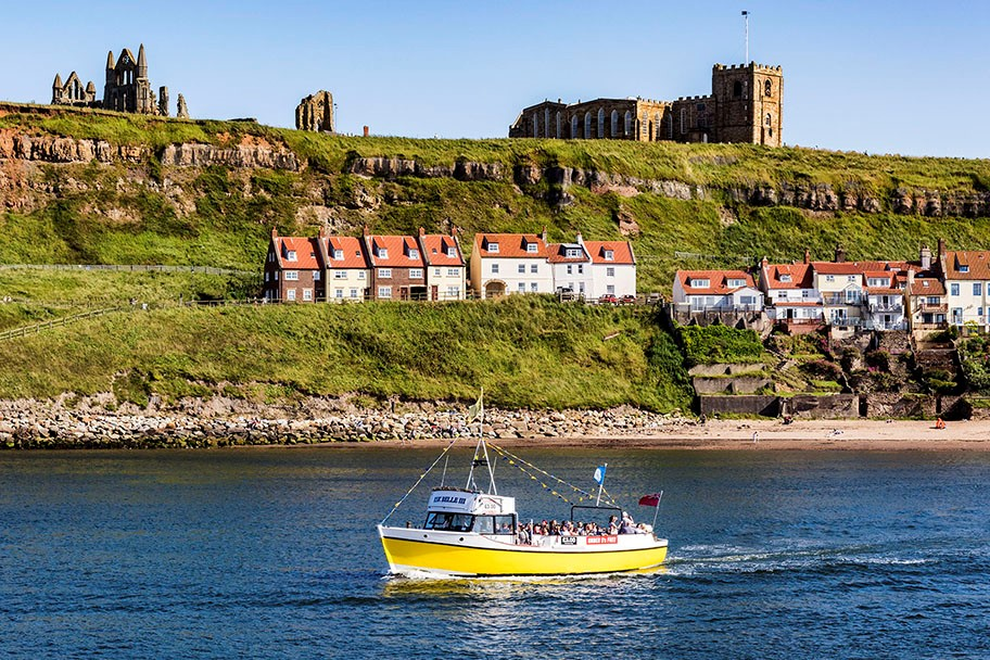 Pleasure boats at Whitby Credit Richard Budron
