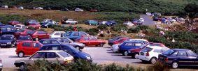 Traffic congestion at Sheepwash
