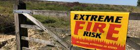 Fire alert Wheeldale Moor