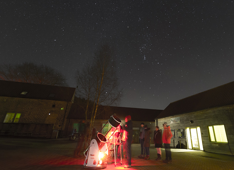 Stargazing with Hidden Horizons at Dalby Forest (c) Steve Bell