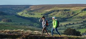 Ladies walking in the North York Moors @VisitBritainImages