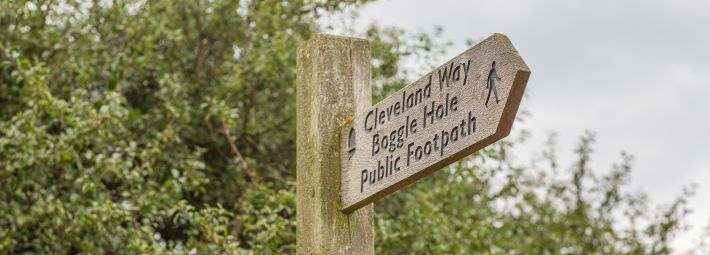 Signpost, credit Visit Britain Images