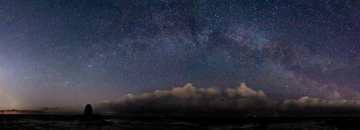 Milky Way, North York Moors Coast by Richard Randle