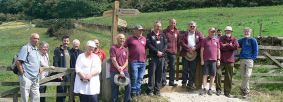 Opening event for new, re-routed section of the Cleveland Way National Trail