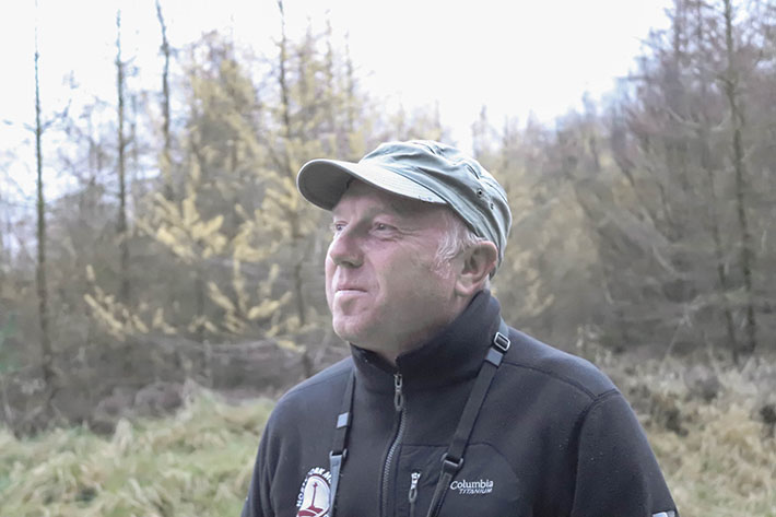 Richard Baines, Turtle Dove Project Officer