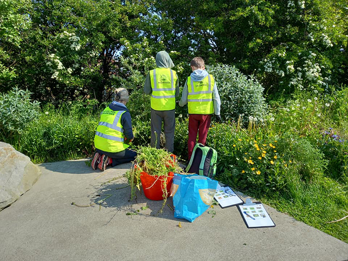 Explorer Club at Welcome to Staithes area